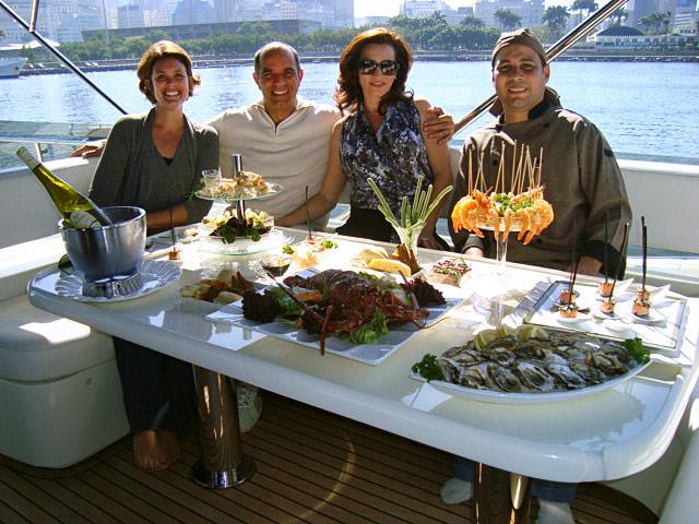 Gravação de cena na Marina da Glória, com Humberto Martins