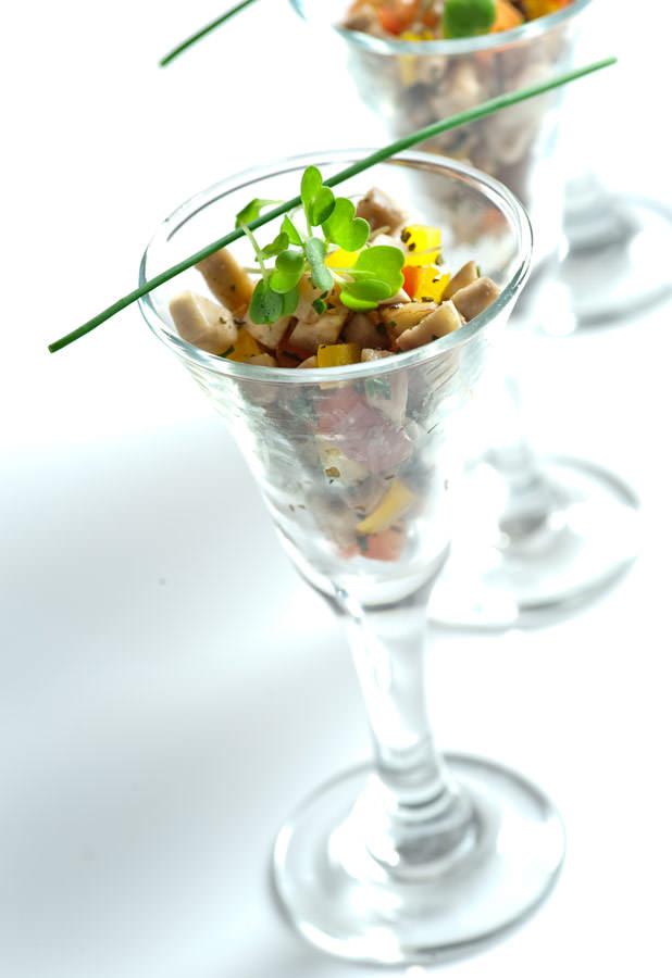 Tartar de Portobello