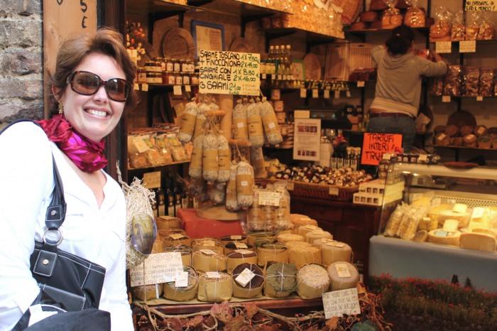 Lojinha... em San Gimignano
