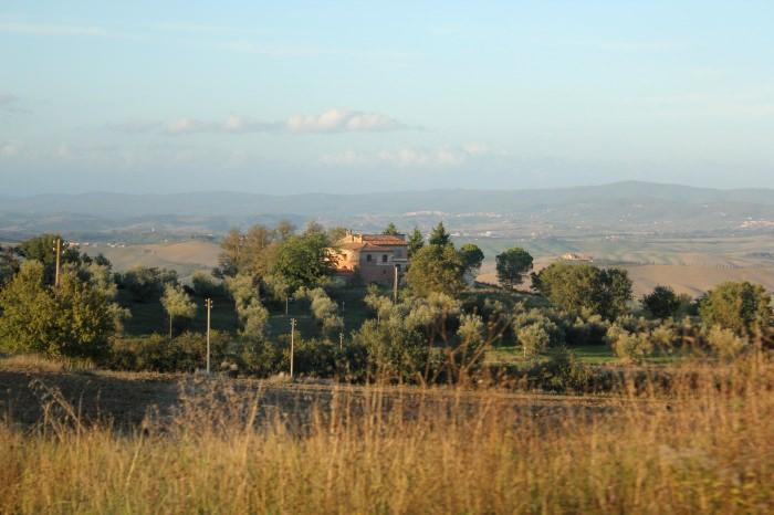 Na Estrada pela Toscana...