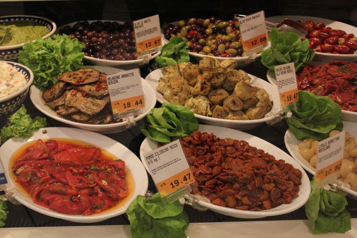 Um Supermercado em Florença...