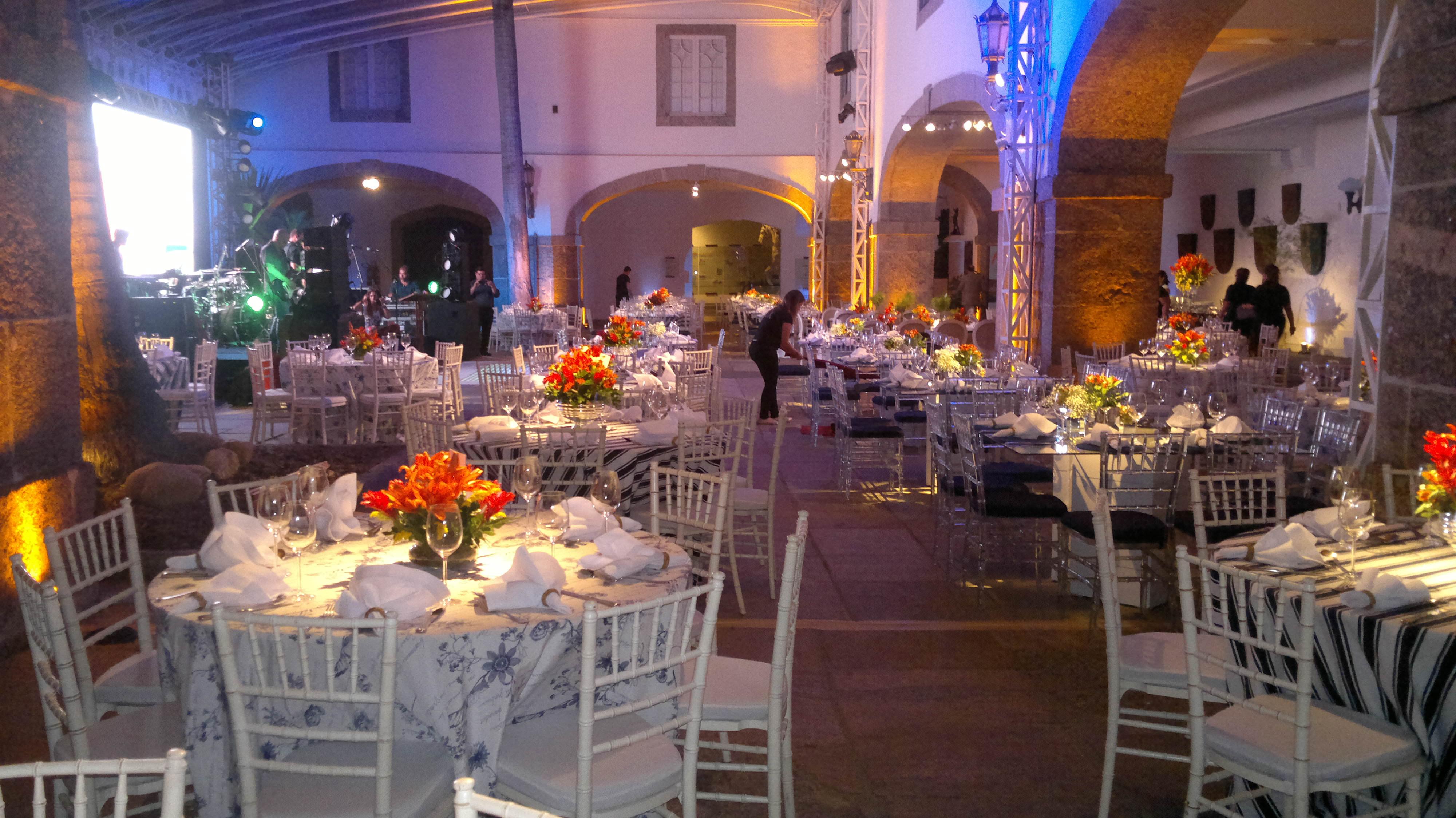Evento Lab Oceano Museu HistA?rico – 200 convidados em Abril de 2013