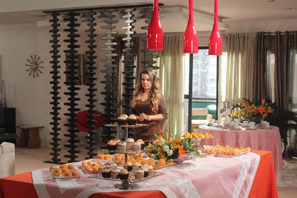 Gravação de Cena com Fernanda Souza