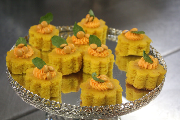 Mini Cake de Cenoura