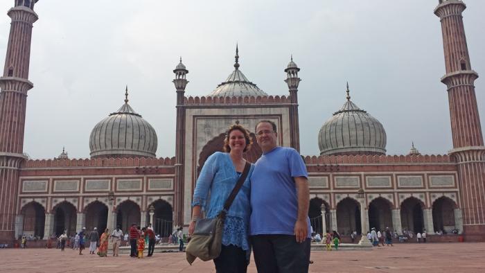 Jama Masjid - A maior e mais bela mesquita da Índia