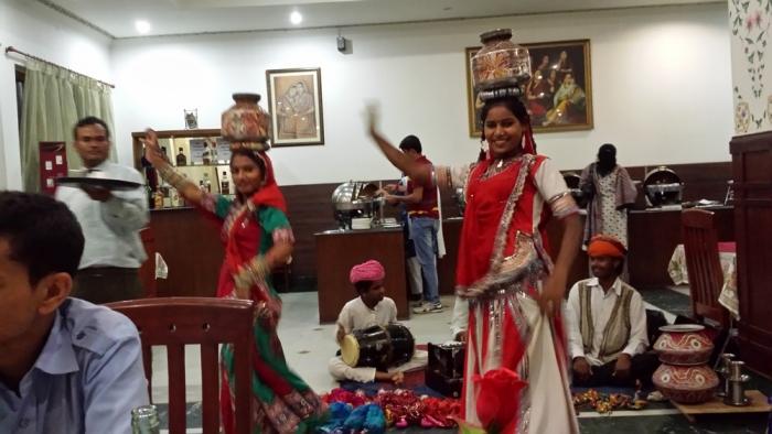 Dança típica do Rajastão