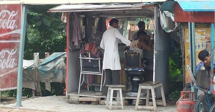 Barbeiro na Rua ...