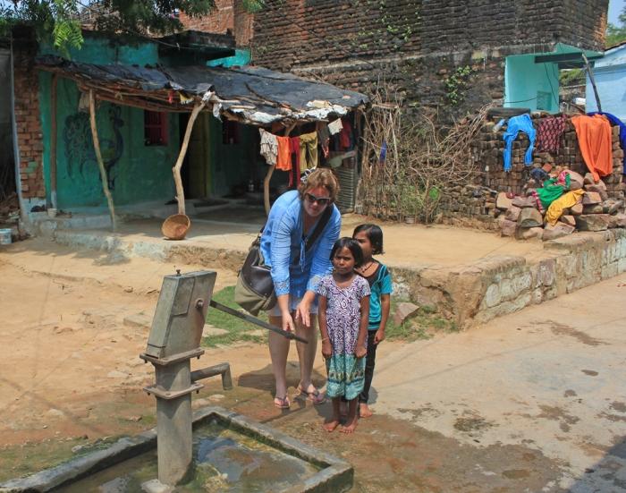 Poço comunitário da aldeia