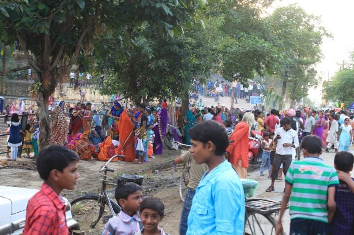 Festividade nas Ruas - agradecimento pela saúde dos filhos