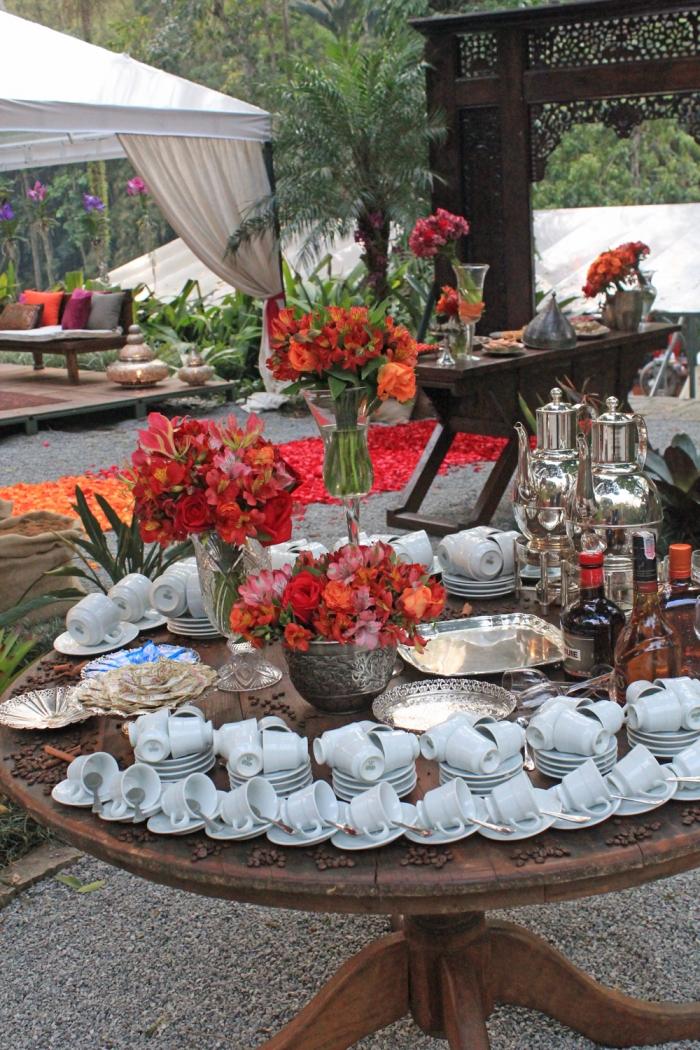 Mesa de Café e Chá