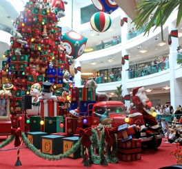 Natal no Shopping Leblon