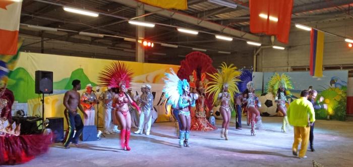 Show de Samba para os convidados