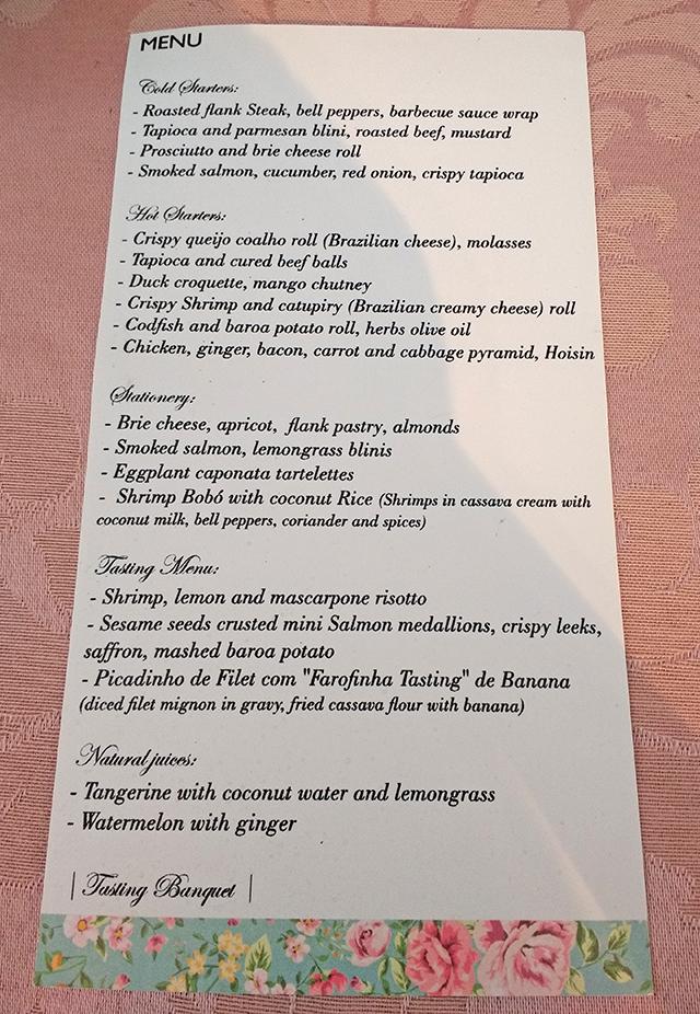 Casamento com Cocktail e Ilha de Degustação