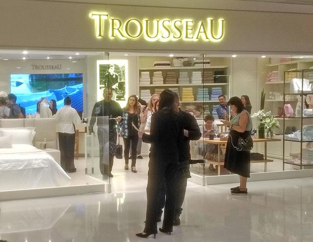 Reinauguração da Loja Trousseau no Shopping Leblon