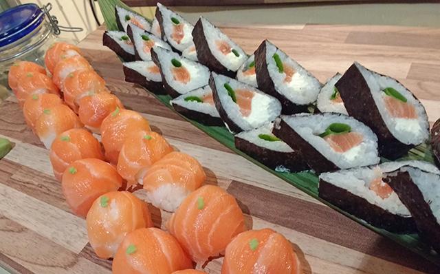 Buffet Japonês para Comemoração de Aniversário