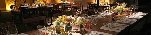 Jantar na Gávea Pequena para 100 convidados