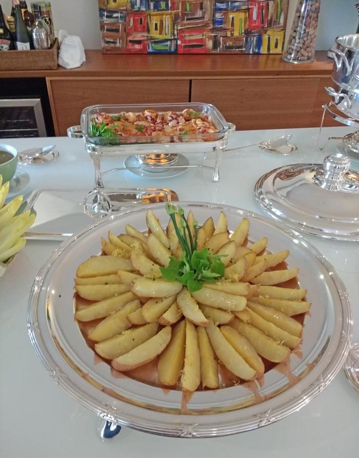 Batata Selvagem com Perfume de Limão Siciliano