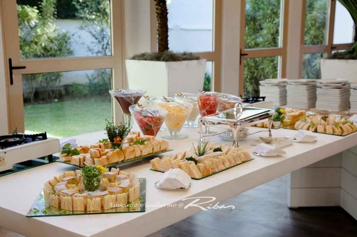 Buffet de Café da Manhã e Tapiocas