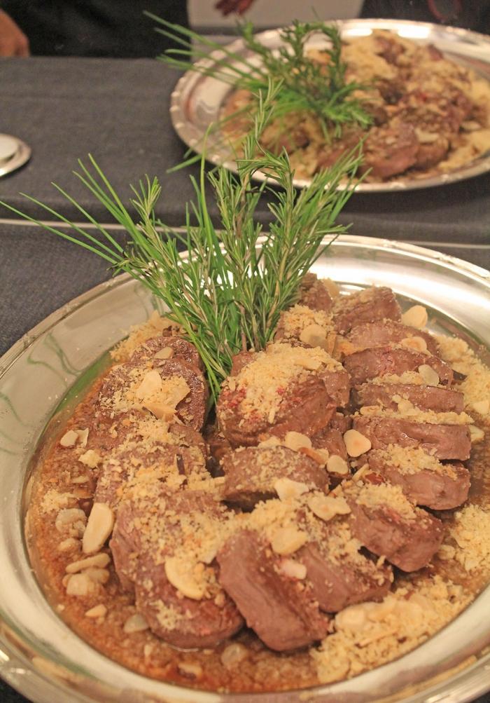 Filet Mignon com Crosta Salgada de Castanha