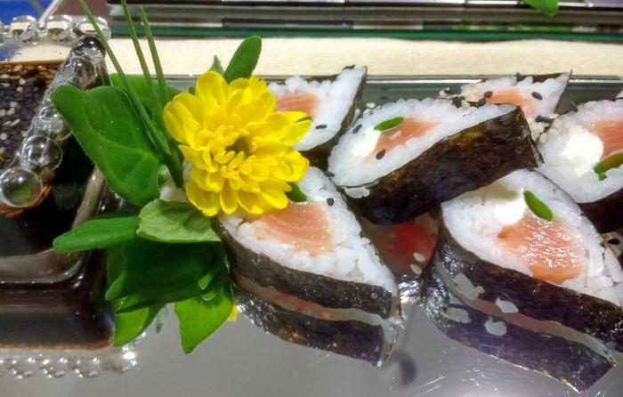 Makimono Tasting de Salmão