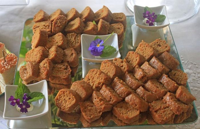 Mini Cake de Cenoura e Especiarias