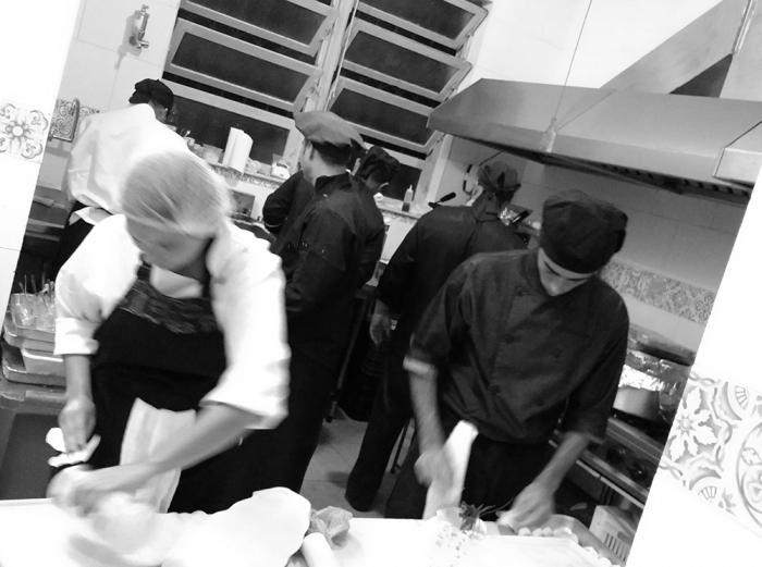Na Cozinha...