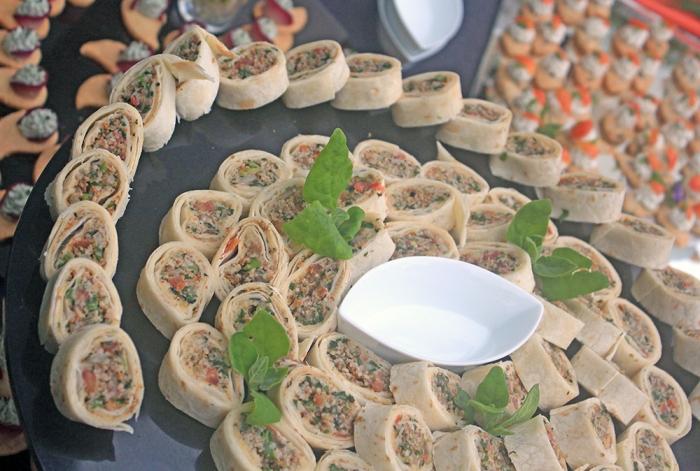 Wrap Árabe com Iogurte refrescante de Hortelã
